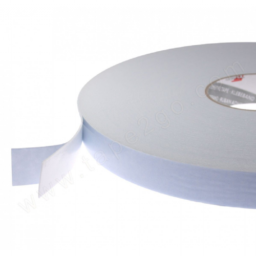 1819TM White Double Sided Foam Tape